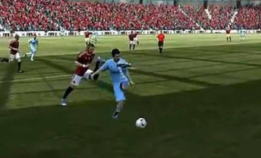 Hold不住了 FIFA12那销魂的引擎