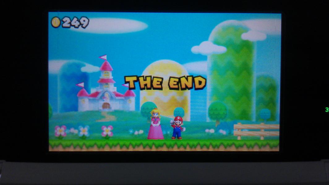 3DS 新超级马里奥兄弟2 一周目通关